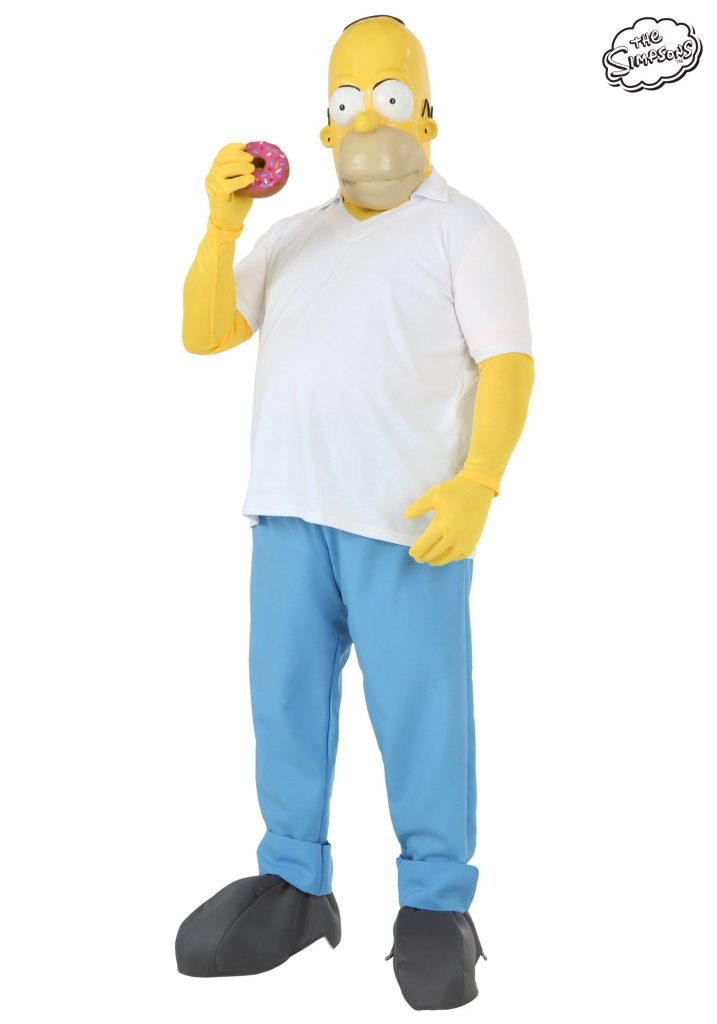 Plus Size Homer Simpson Costume