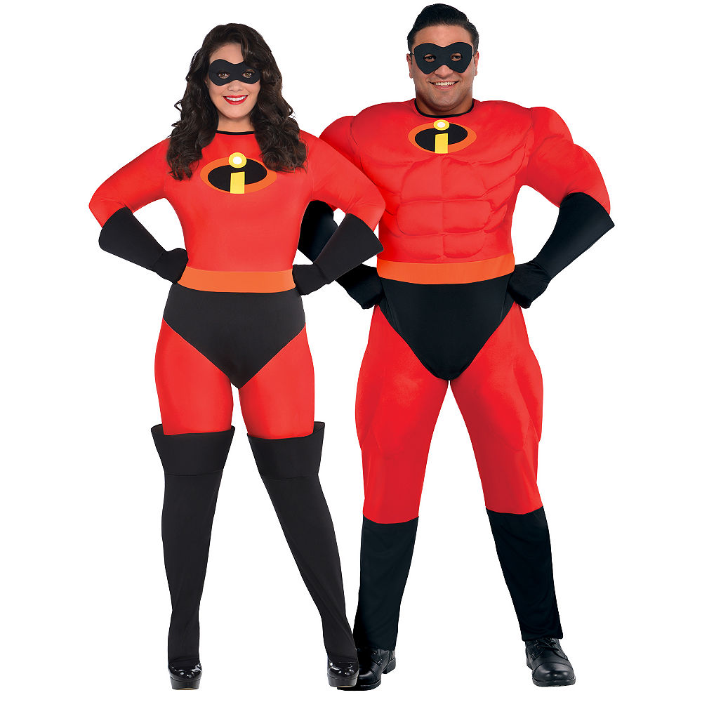 Plus Size Adult Mr. & Mrs. Incredible Couples