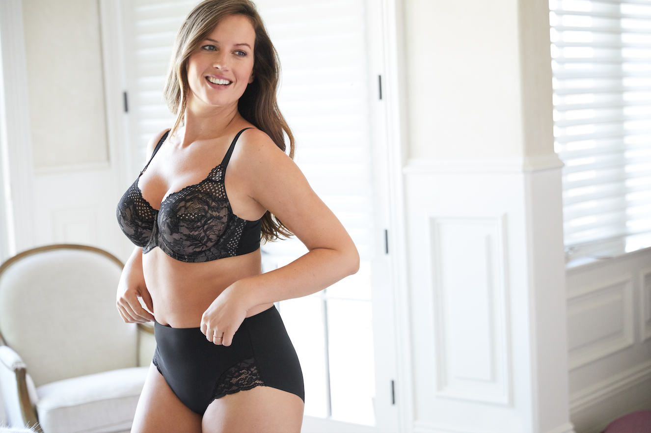 Curvy Couture for Soma Lace and Lift Push Up Bra