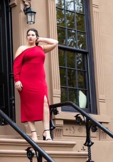 Plus Size Holiday Dresses Under $100-