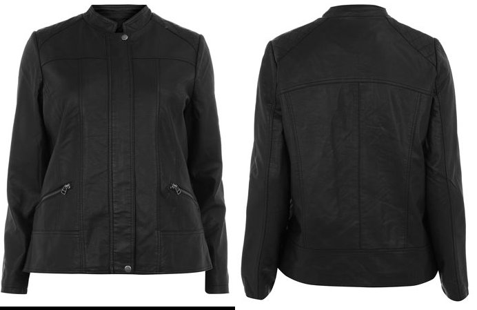 Evans Plus Size Moto Jacket