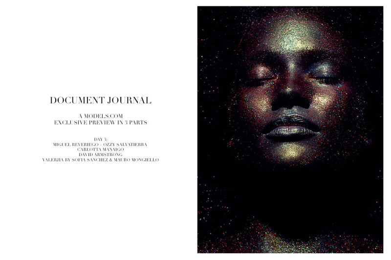 Plus Size Model Tara Lynn in Document Journal
