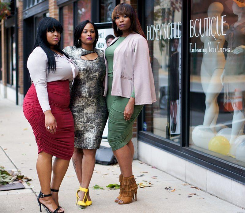 Black Owned plus size boutique: Honey's Child Boutique