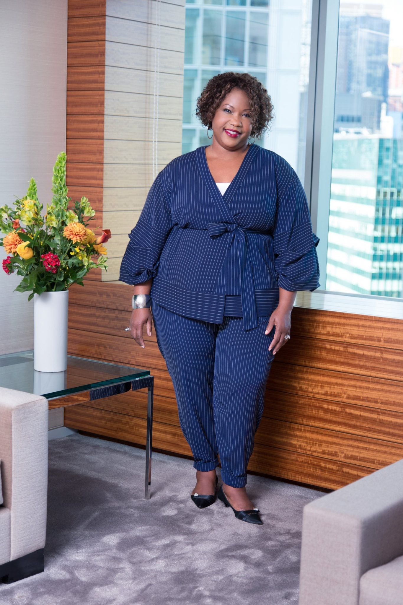 Plus Size Fashion for Women Over 40- Regina Speed-Bost in Eloquii Style & Substance Interview