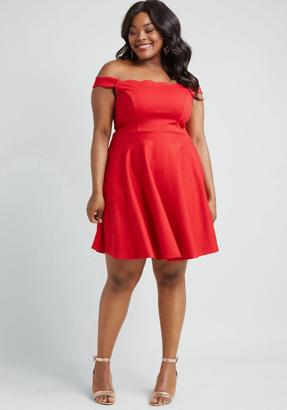 Forever Fave Off-Shoulder Dress