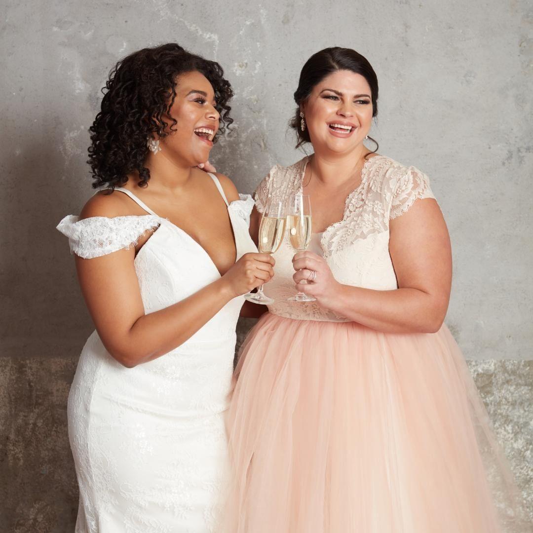 Plus size bridal dresses by Ella & Oak