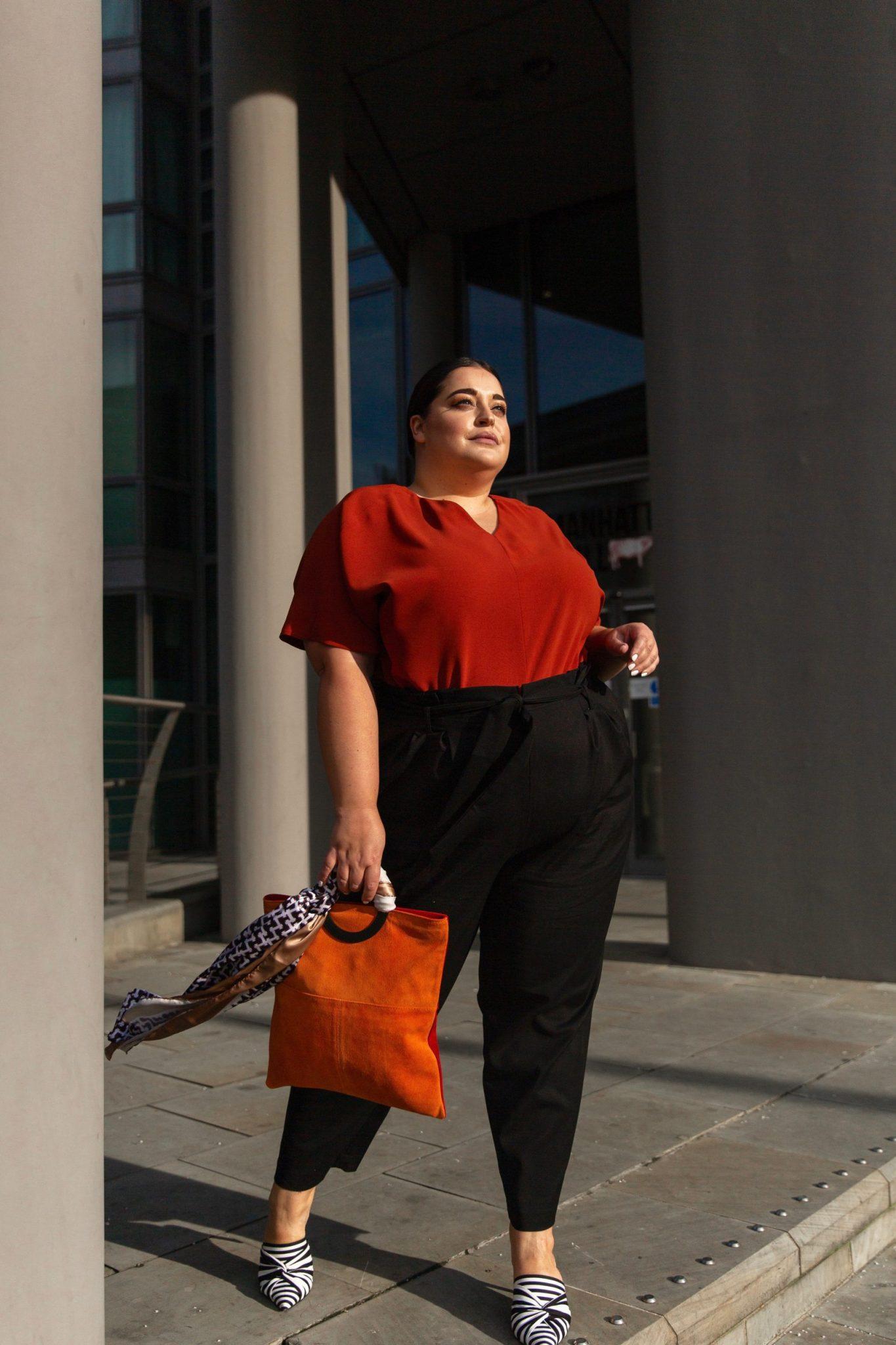 Danielle Vanier meets navabi- Plus Size Blogger Collaboration