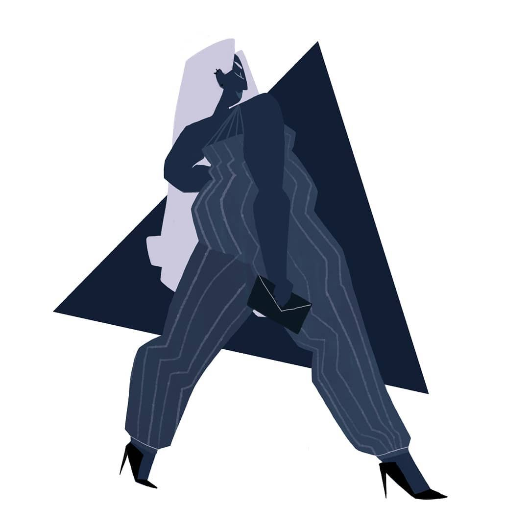 Plus Size Illustrations from Shelby Bergen- Angles
