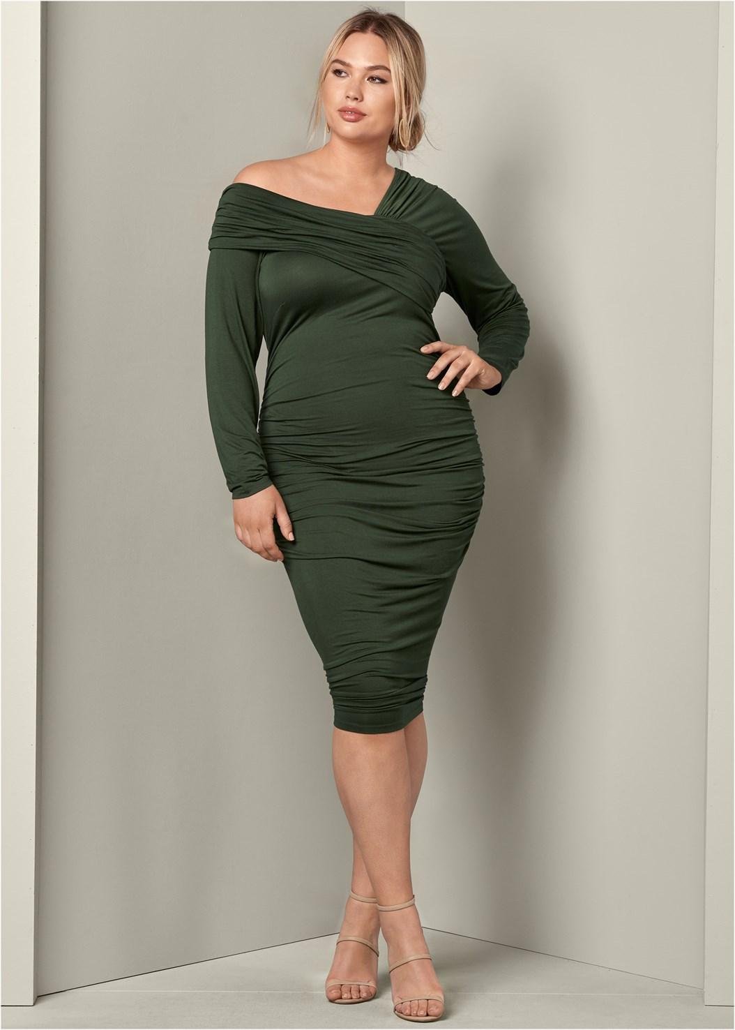 Venus ruched dress