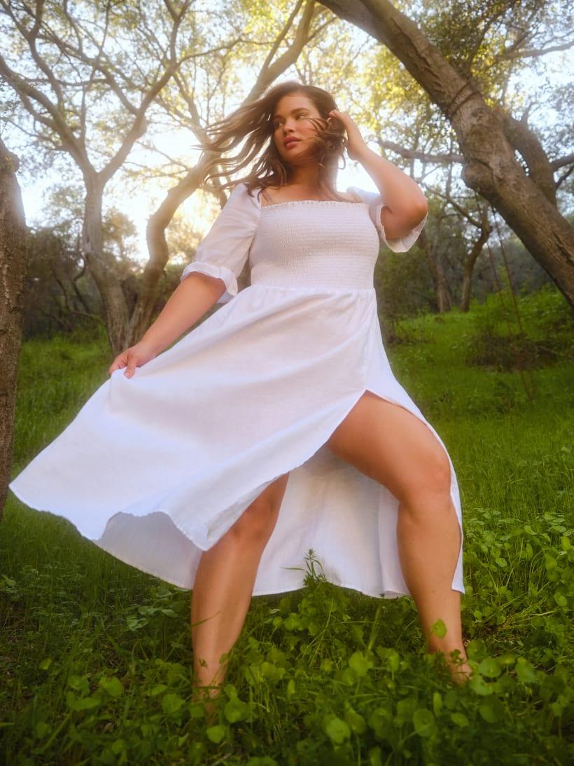 Reformation Plus Sizes- Marabella Dress