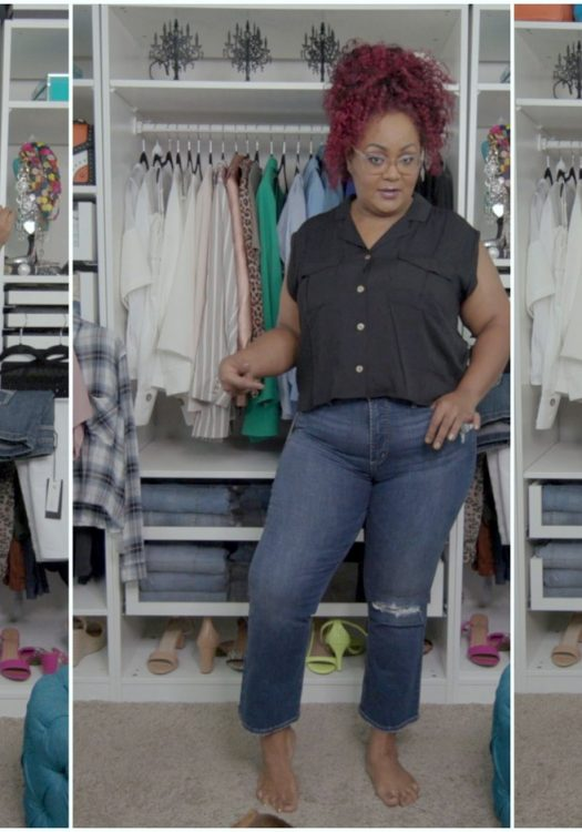 Video: Denim Refresh and Playing in New Silver Jeans Plus Size Denim!