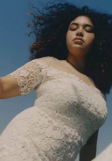 Modern Plus SIze Bridal from Floravere