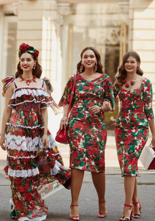 Dolce & Gabbana Extends Sizing into Plus Size