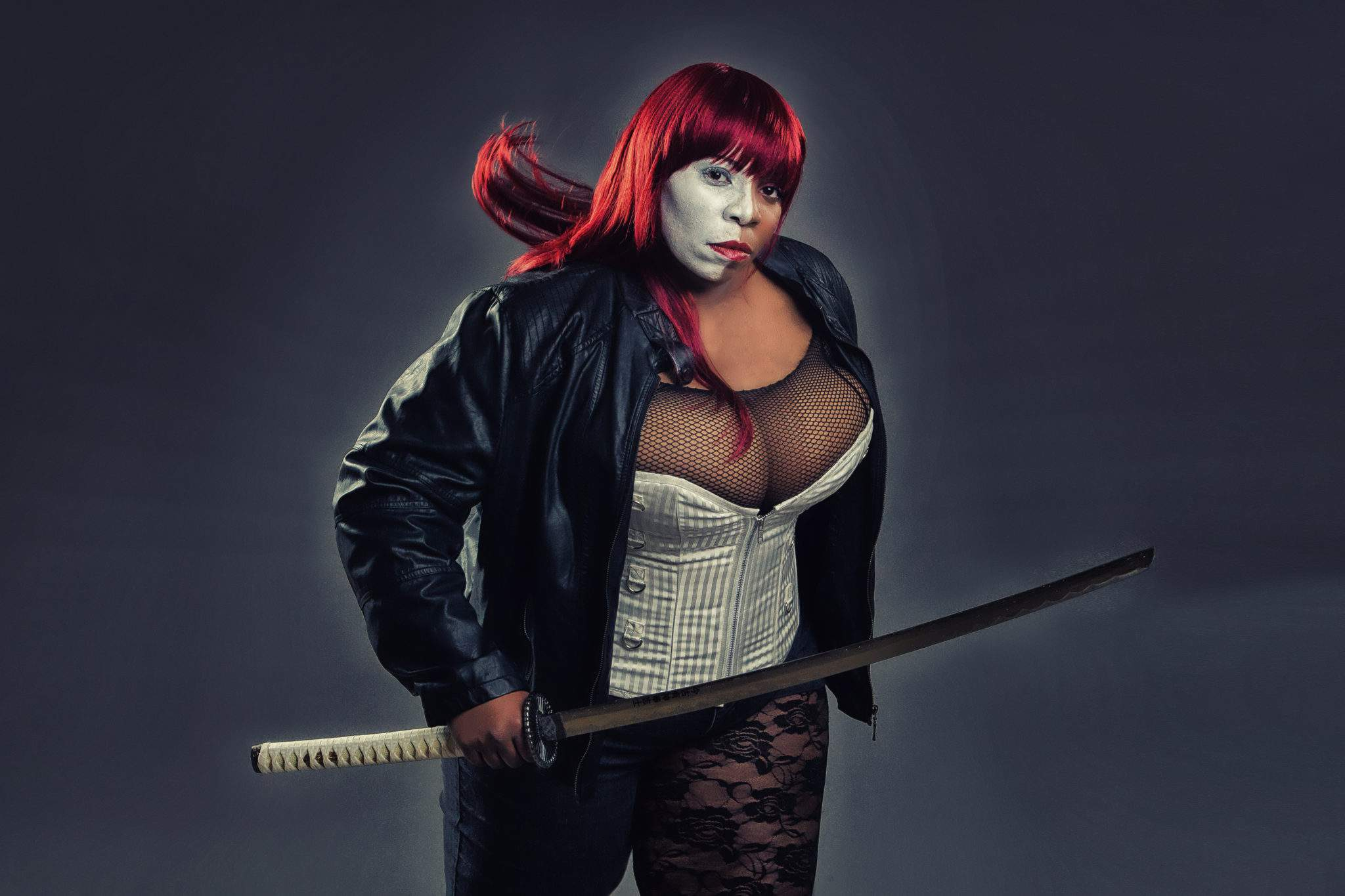Plus Size Cosplayer- Talynn Kael as Typhoid-Mary