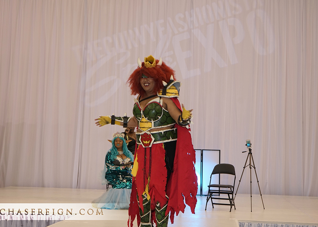 Jazz the Bat- Plus Size Cosplay at the 2018 TCFStyle Expo