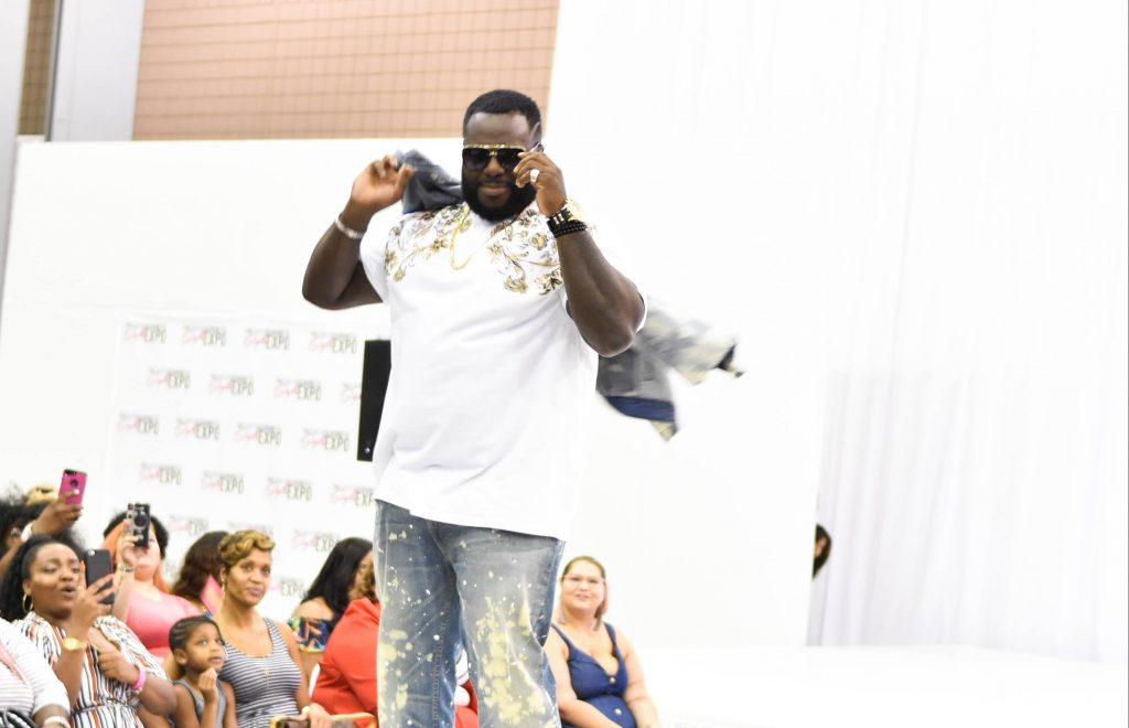 Plus Size Men Fashion Show