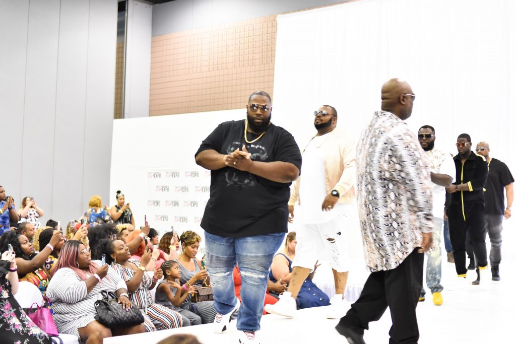 Plus Size Fashion for Men Show