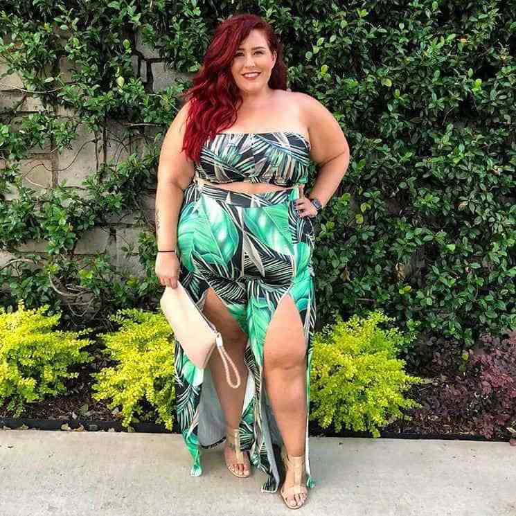 Tropical Plus Size Outfit