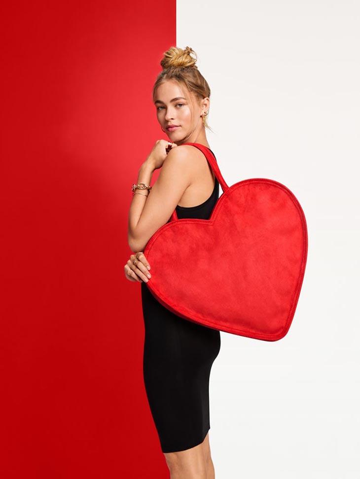 Erin Fetherston for Target Heart Shaped Tote Handbag