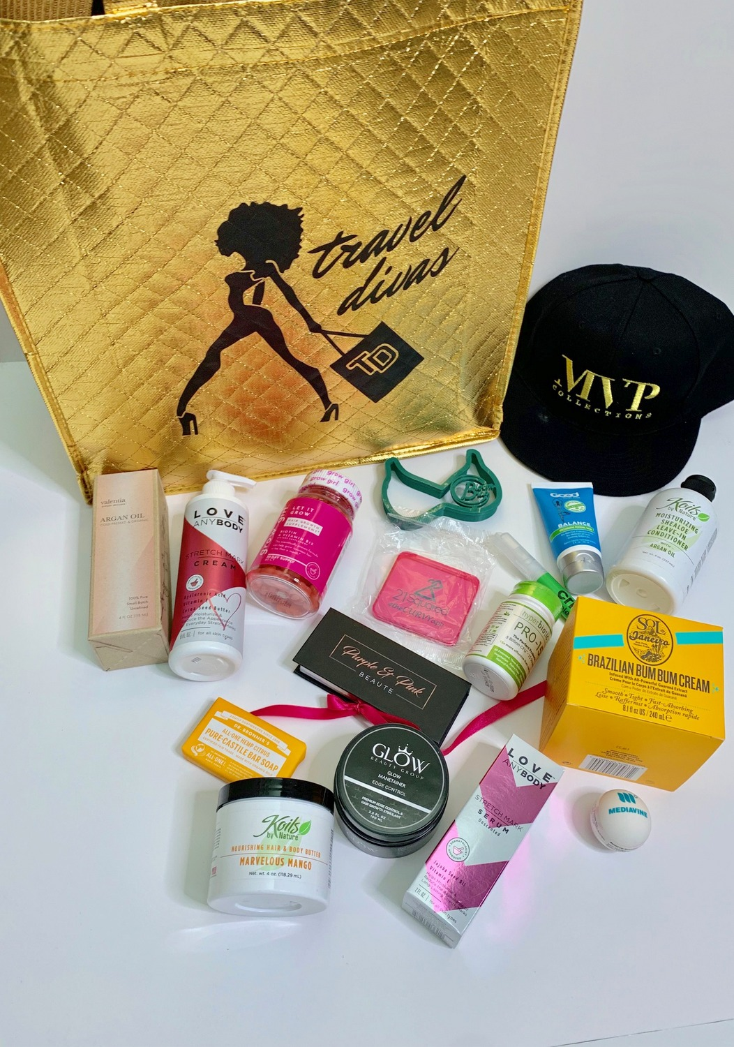 Inside the TCFStyle Expo Gift Bag