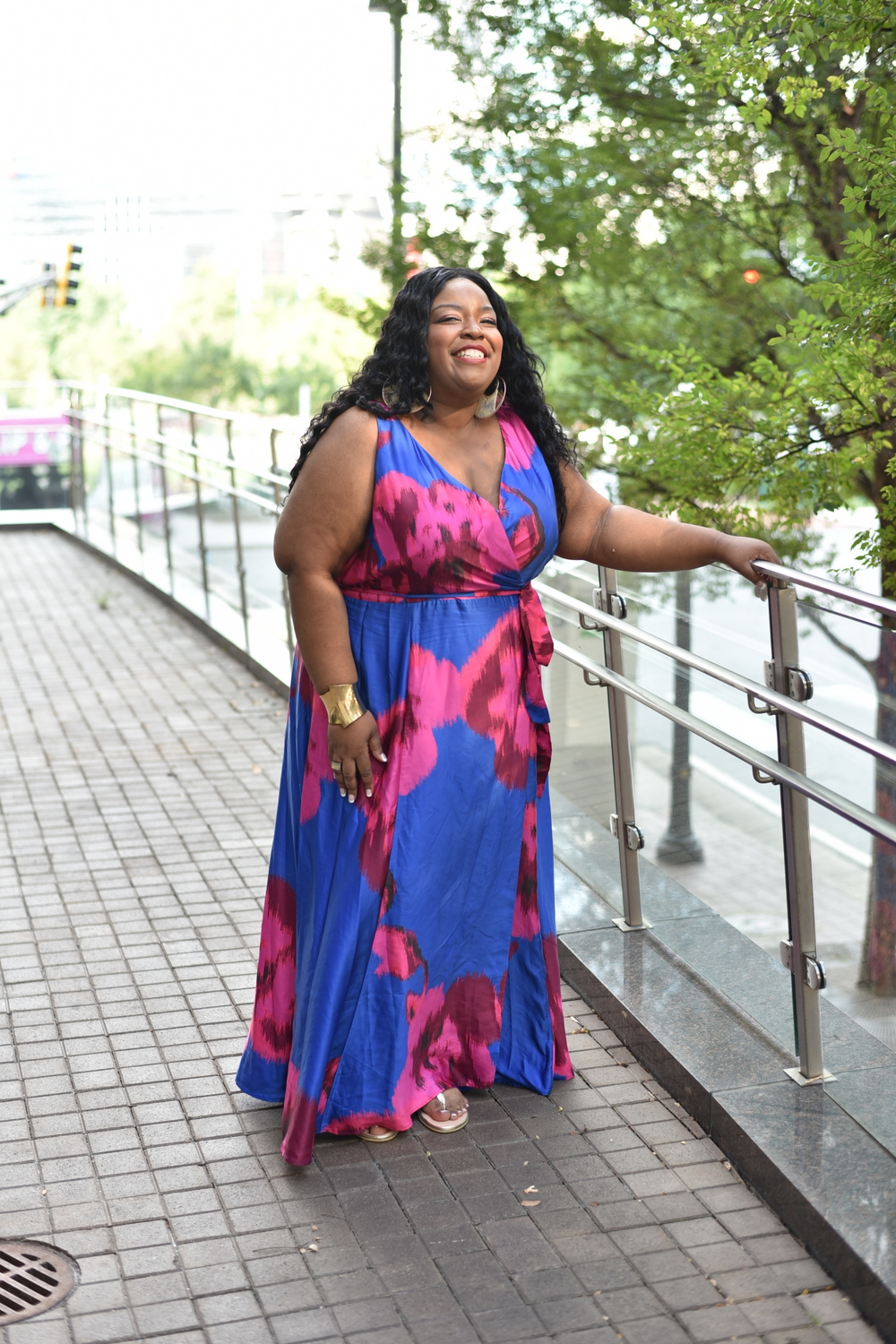 Anthropologie sponsors the TCFStyle Expo- Host Chenese Lewis
