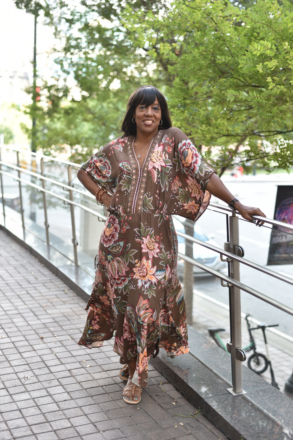 Anthropologie sponsors the TCFStyle Expo- Kim of K Dujour Events