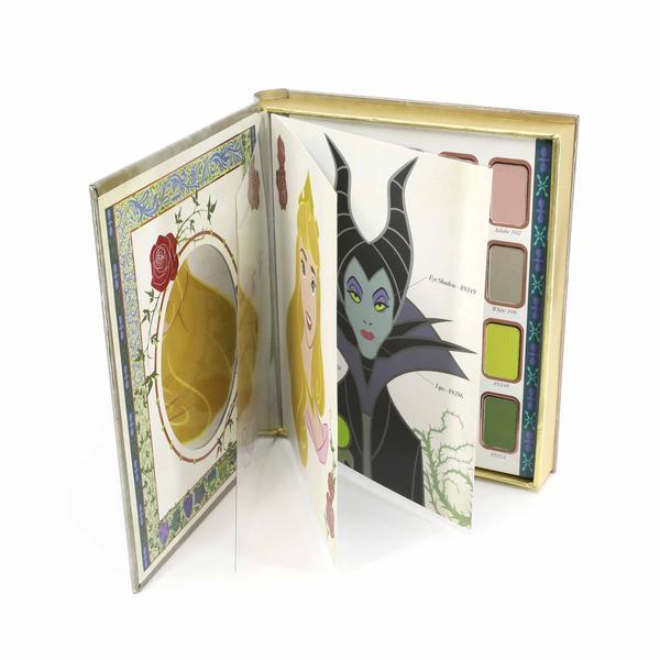 The 1959 Eyeshadow Palette Sleeping Beauty Book from Besame Cosmetics