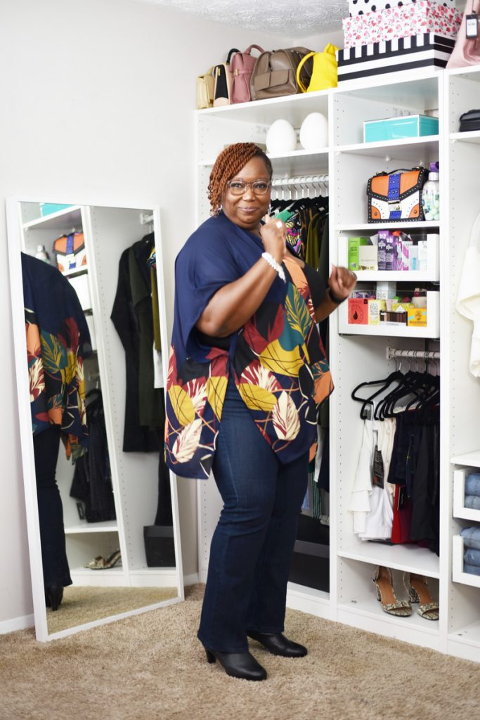 Aundrea S. in Catherine's Universal Jeans