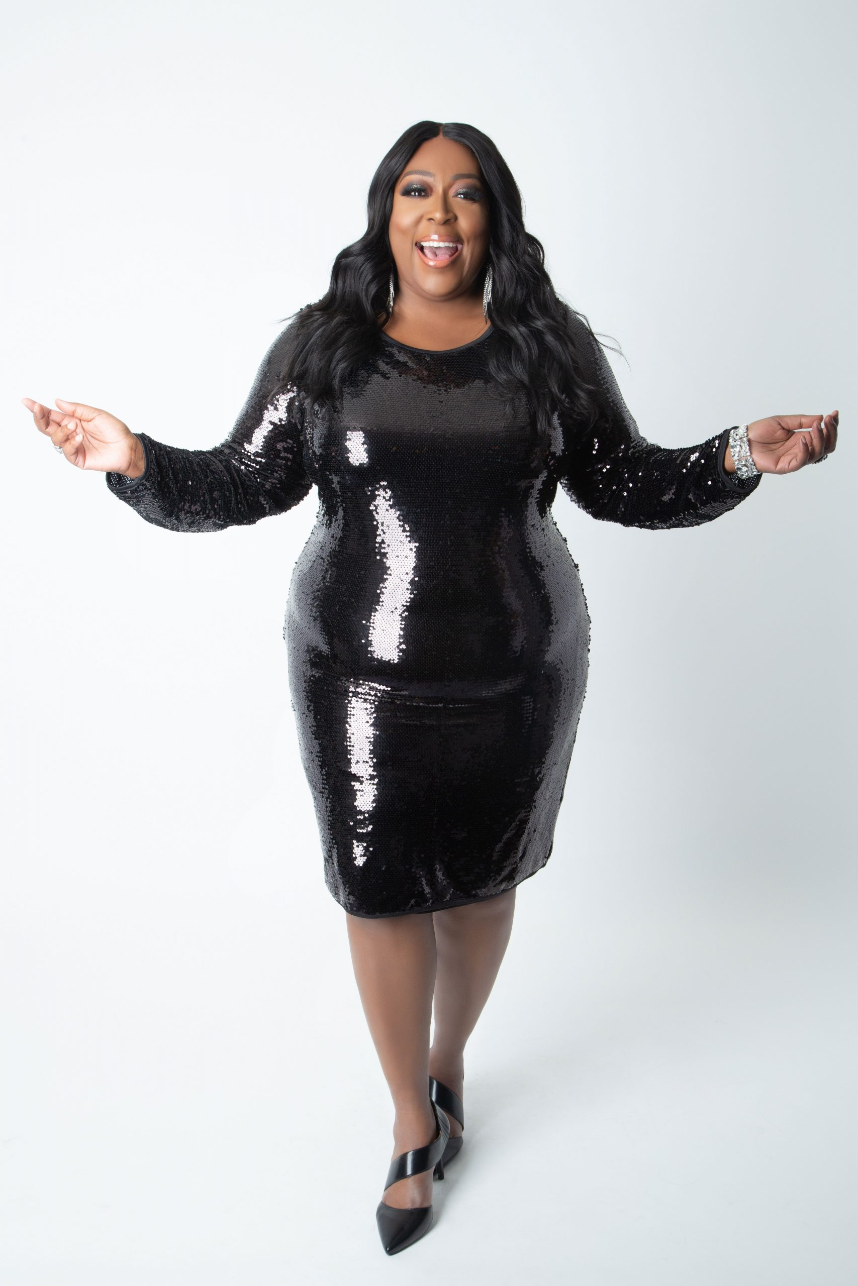Loni Love x Ashley Stewart Plus Size Holiday Collection