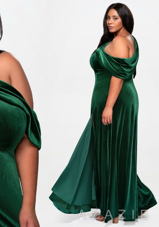 Azazie Plus Size Holiday Dresses