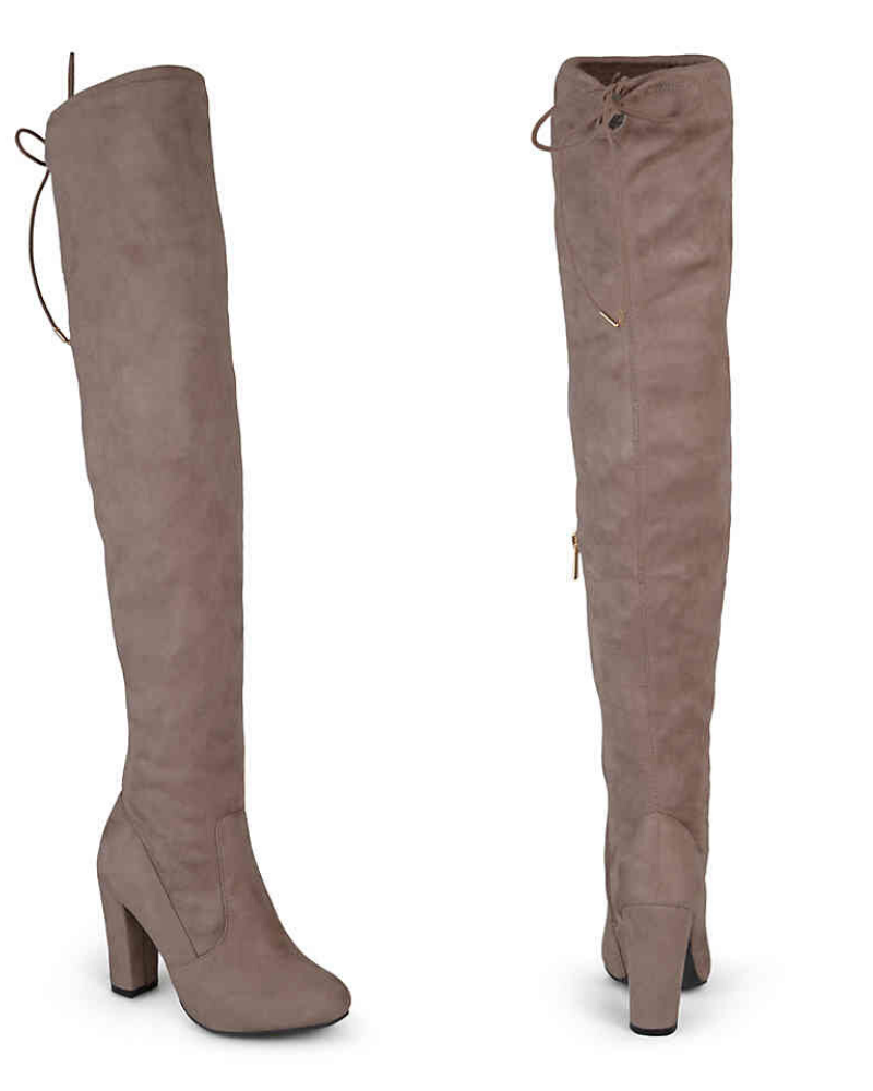 Maya Wide Calf Thigh High Boots from DSW