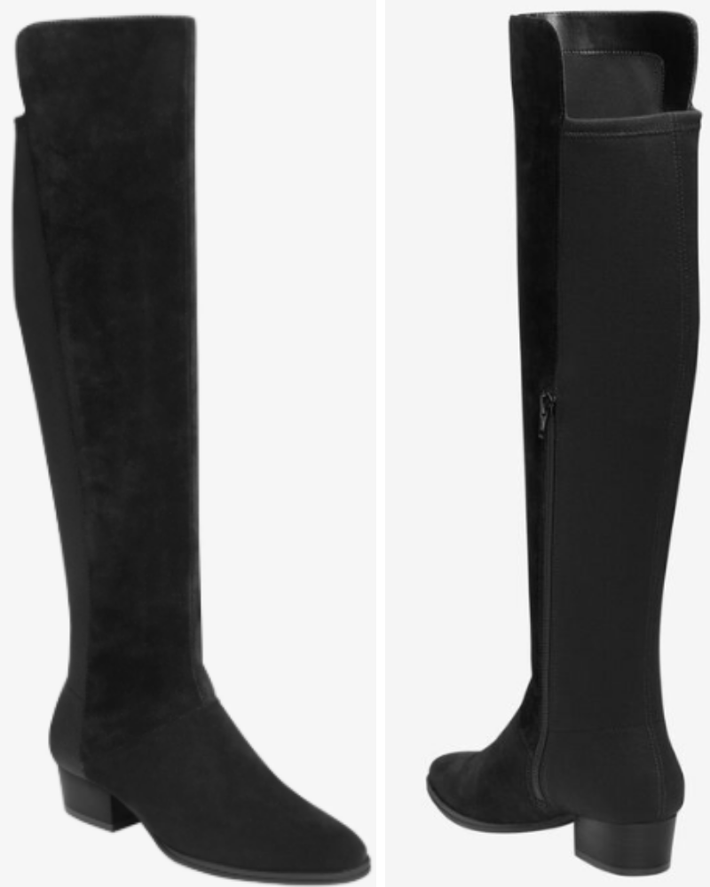 Cross Country Wide Calf Boots by Aeros from Woman Within