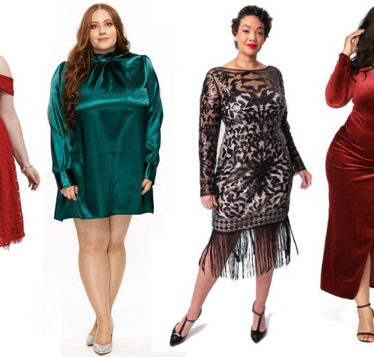 Dance the Night Away in These Plus Size Holiday Dresses Under $100!
