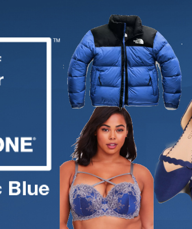 How to Wear Classic Blue
