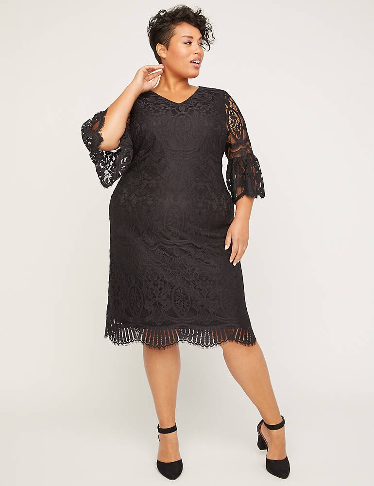 Gallery Lace Shift Dress