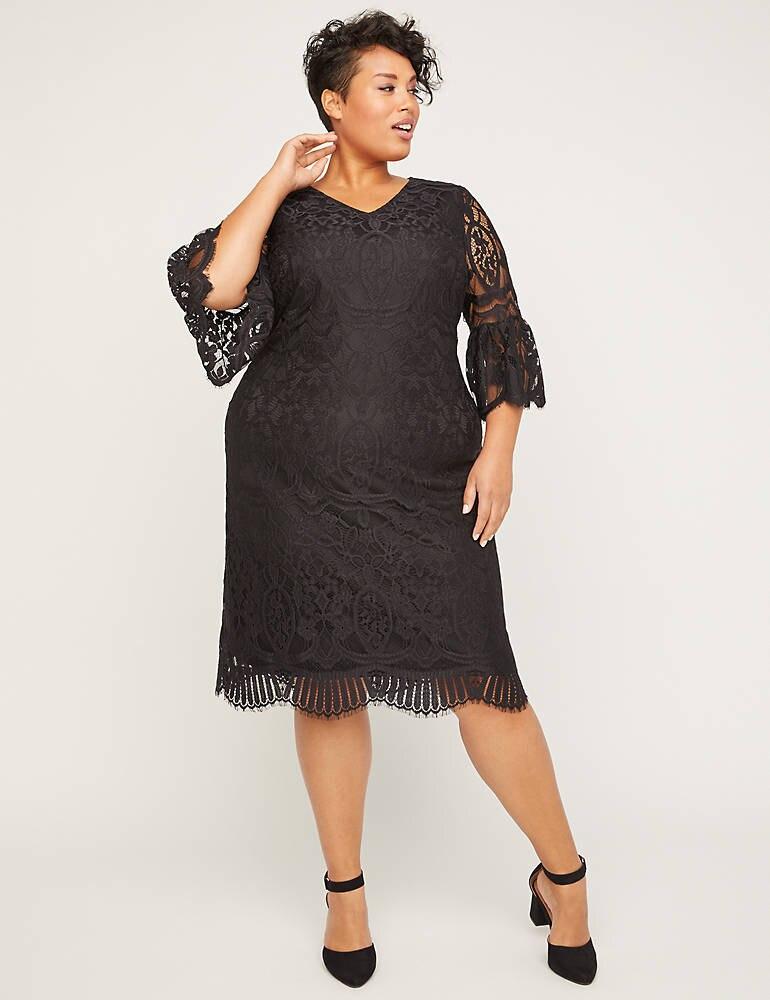 Gallery Lace Shift Dress