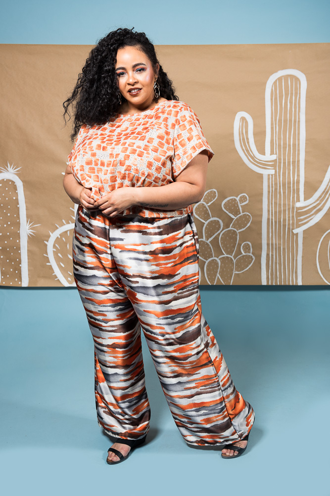 Copper Union Desert Lupine Plus Size Clothing Collection