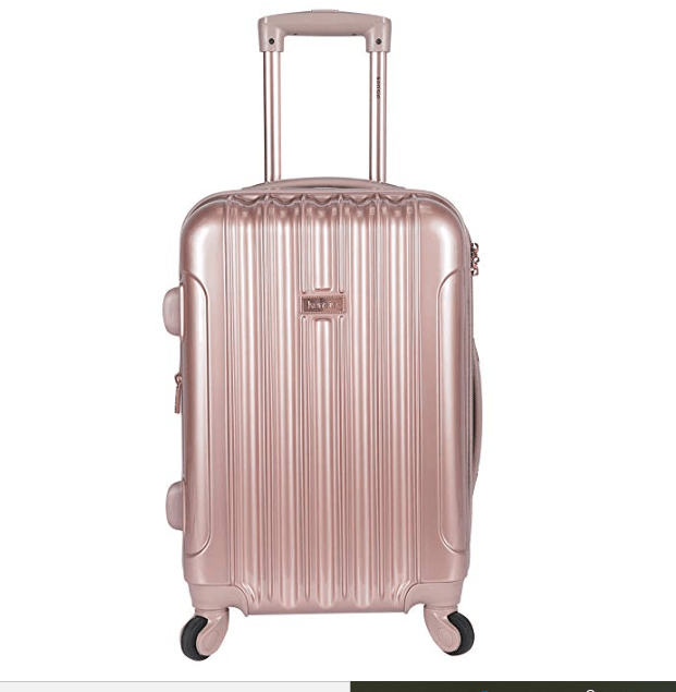 Pink Carry On Roller Bag