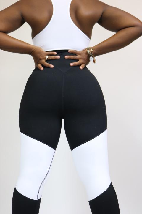 Plus Size Activewear Big Bottom Behavior