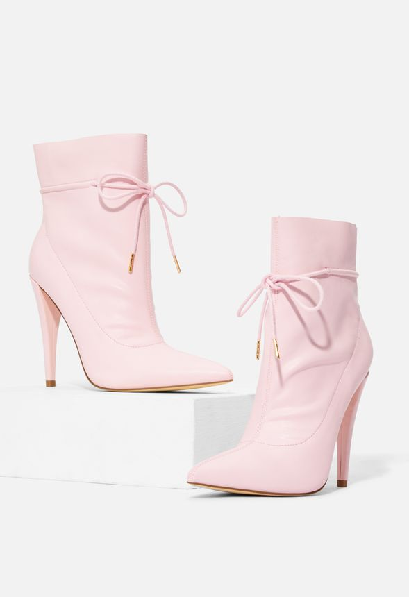 Pink JustFab Boots