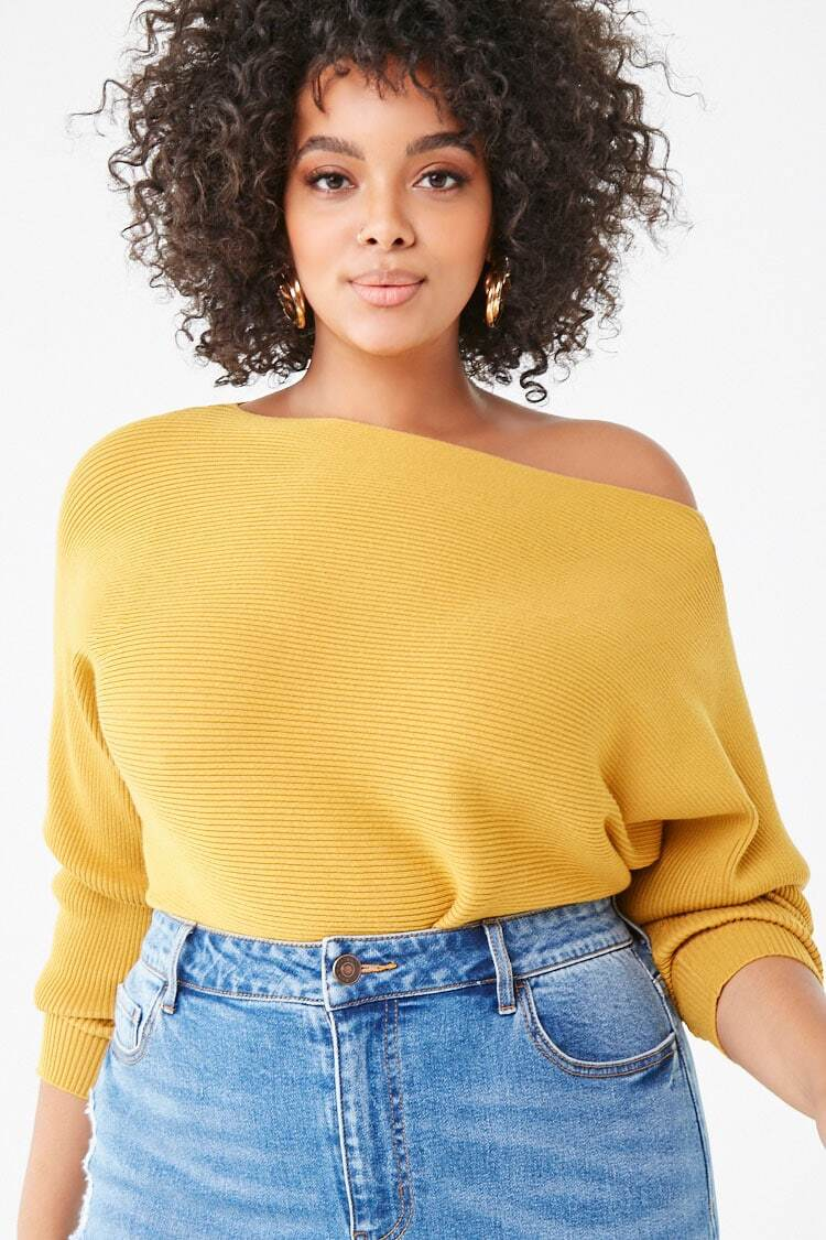 colorful sweater plus size