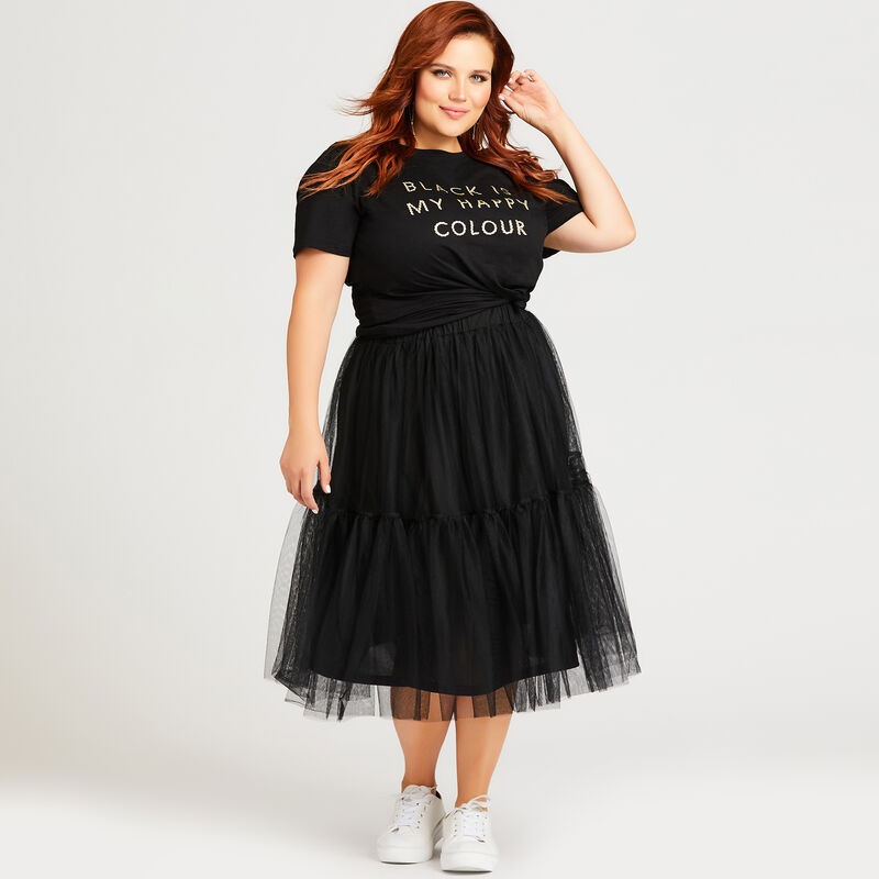 Loralette by Avenue plus size Tulle Skirt