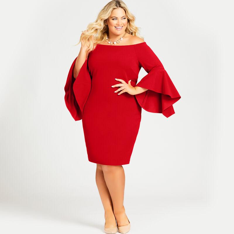 Avenue Plus Size FIONA DRESS