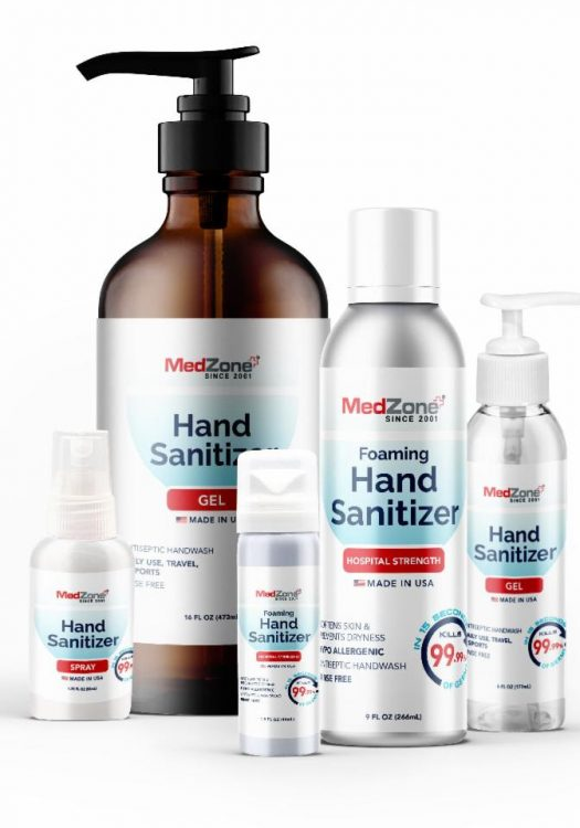 MedZone, the Owners of Zone Naturals to Create Hand Sanitizers!