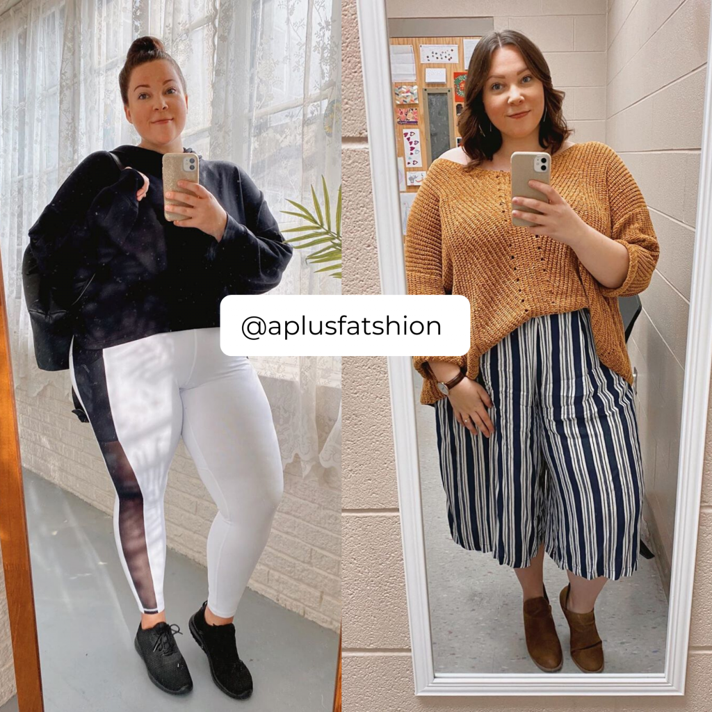 The Plus Size Influencers Who Have Some of the Best Plus Size Loungewear- @APlusFatshion