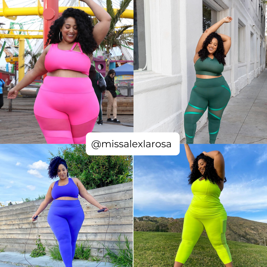 The Plus Size Influencers Who Have Some of the Best Plus Size Loungewear- @MissAlexRosa