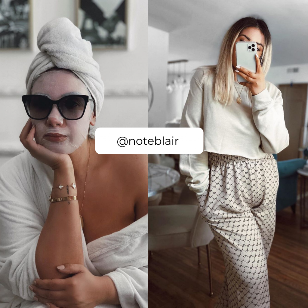 The Plus Size Influencers Who Have Some of the Best Plus Size Loungewear- @NoteBlair