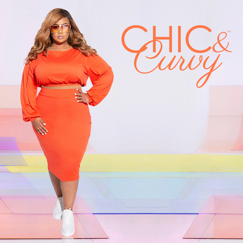 Chic and Curvy Plus Size Boutique- Matching sets