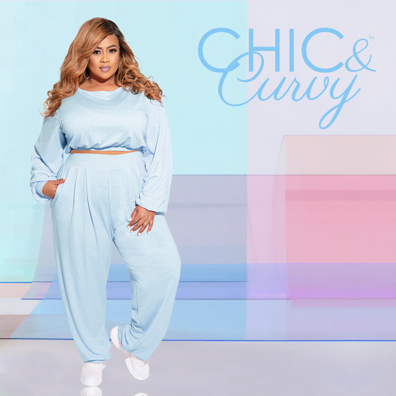 Chic and Curvy Plus Size Boutique- Athleisure