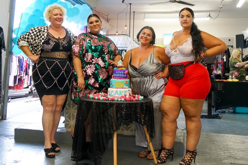 The Plus Bus Plus size consignment store